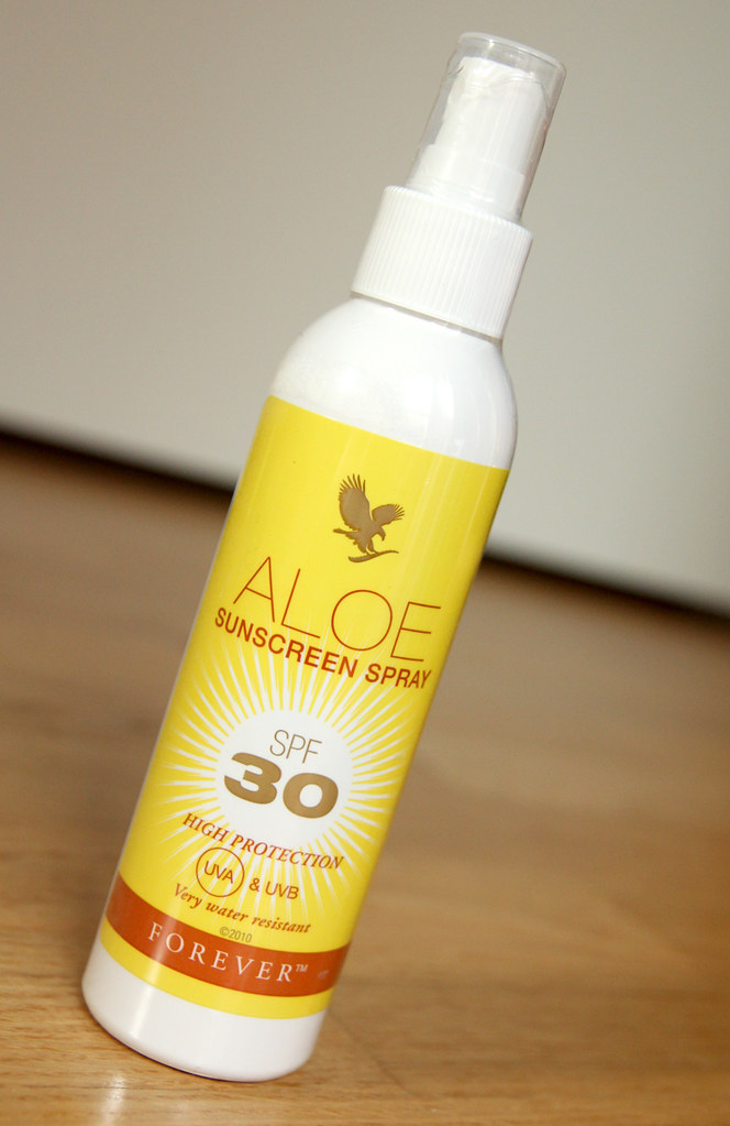 Forever aloe sunscreen spray spf 30
