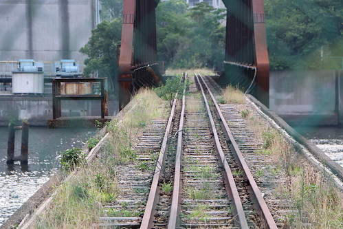 rusty railway bridge 07