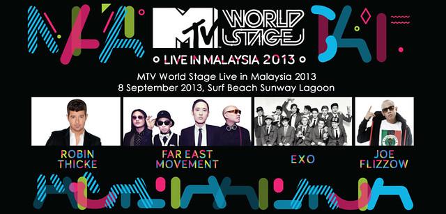 Peraduan Jemputan Ke MTV World Stage 2013