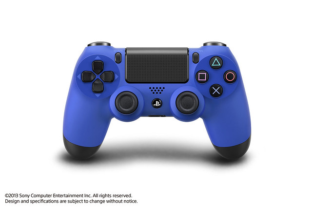 PlayStation 4 DualShock 4 Wave Blue Controller