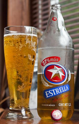 Skunkworth's Barleyslime: Estrella Cerveza Clara by Cody La Bière