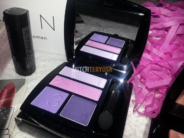 True Color Eyeshadow Quad in Purple Pop, Php449