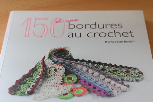 livre 150 et une bordures au crochet de bernadette baldelli knit spirit. Black Bedroom Furniture Sets. Home Design Ideas