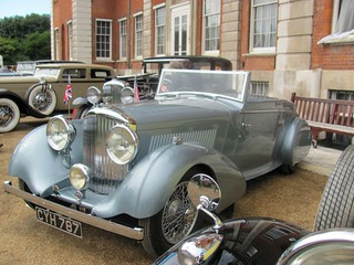1936 Bentley 4 1/4 Litre H J Mulliner Streamlined Drophead Coupe