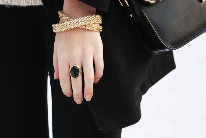 złote bransoletki h&m