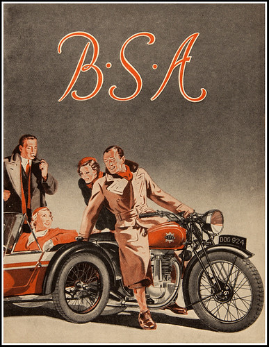Gentlemanly BSA Enthusiasts by bullittmcqueen