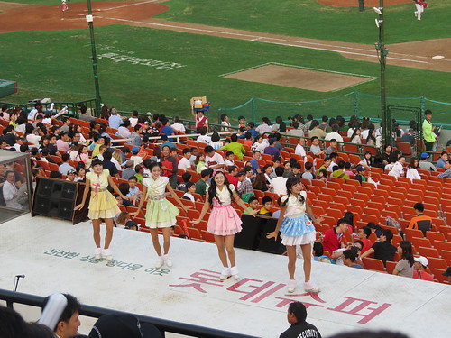 Hanbok Cheerleaders