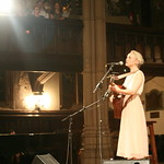 Laura Marling fills St. Ann's with her beautiful voice and sharp lyrics. Hosted by Rita Houston. Photo by Laura Fedele