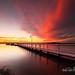 Murrays Beach Sunset #3 05 Oct 2013 IMG_9968 1050 by Magic Light Photos