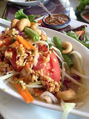 Jitlada: Green Papaya Salad