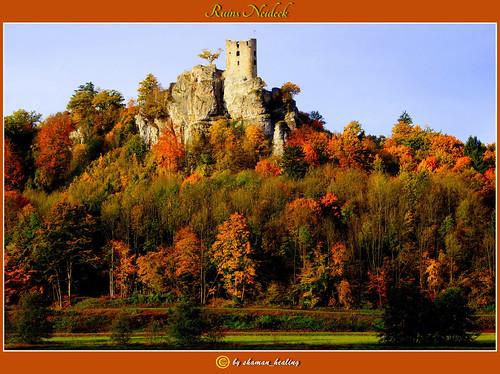 autumn colors herbst burg 2012 farben fränkischeschweiz franconianswitzerland streitberg wiesenttal burgruineneideck ruinsneideck