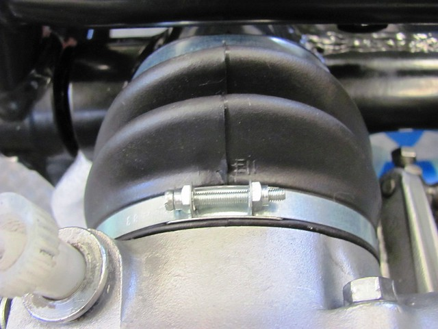 "Swing Arm Boot - ""OB"" EN (Top) on Round Section"