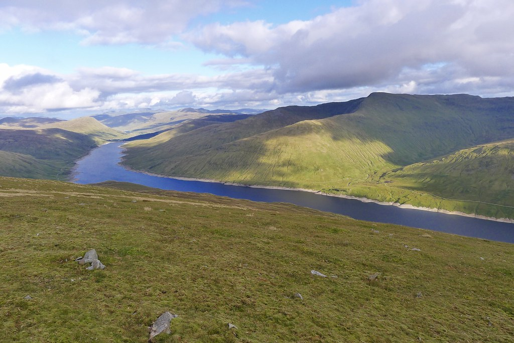 Loch Lyon from Beinn Mhanach