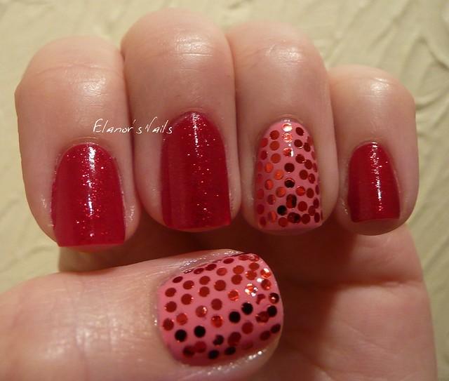 pink & red sequins 2