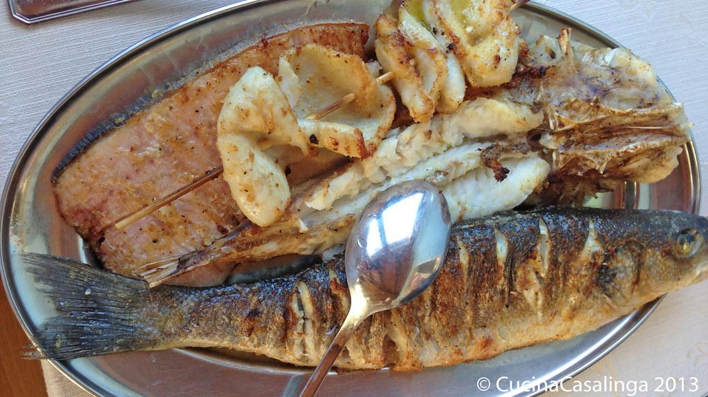 Recanati Gemischter Fisch