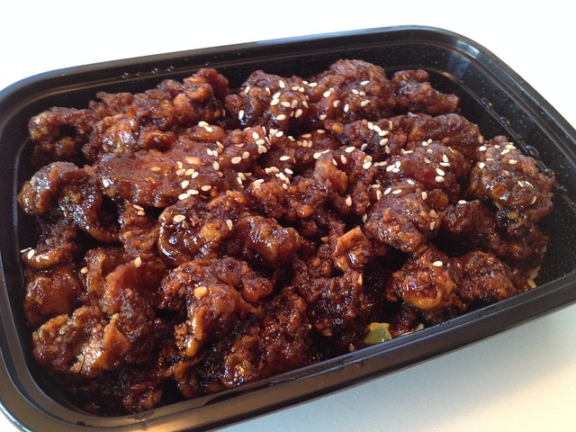General Tsao chicken - Jasmine Tea House