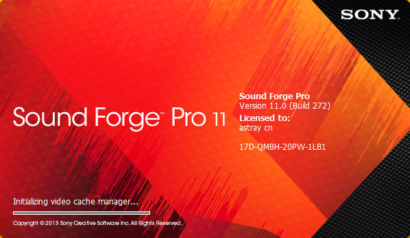Sound Forge Pro 11.0