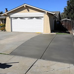 Driveway Extension With Curb In Vacaville