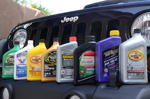 5w20 Synthetic Oil >> Motor Oil: Certification: Chrysler MS-6395 | Jeep Off Road Adventures
