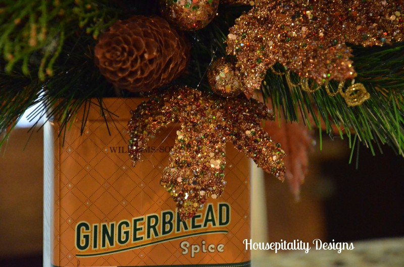Gingerbread Pancake Mix Tin Arrangement