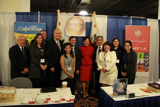 California group photo with Sec. of Commerce Pritzker