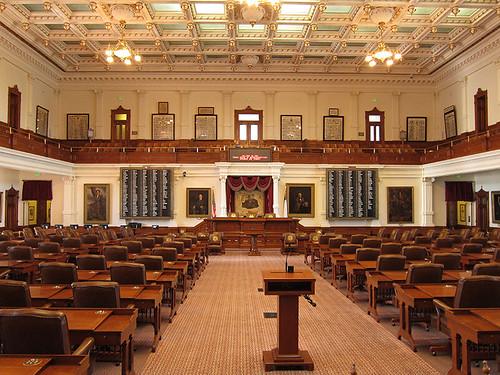 Texas Senate floor