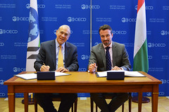 OECD and Hungary signing ceremony of the Convention on Mutual Administrative Assistance in Tax Matters