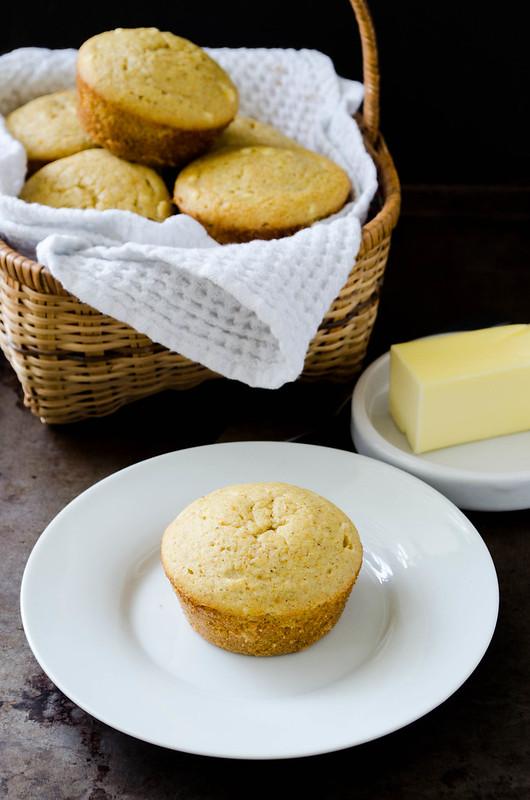 Buckwheat Corn Muffins (Gluten Free)