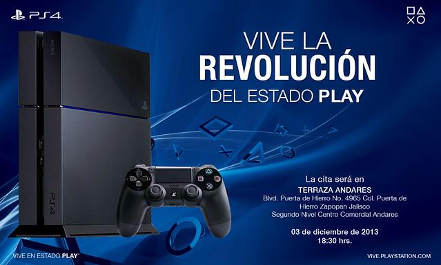 Invitacion PS4 GDL OK