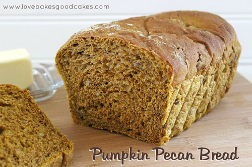 Pumpkin Pecan Bread 6