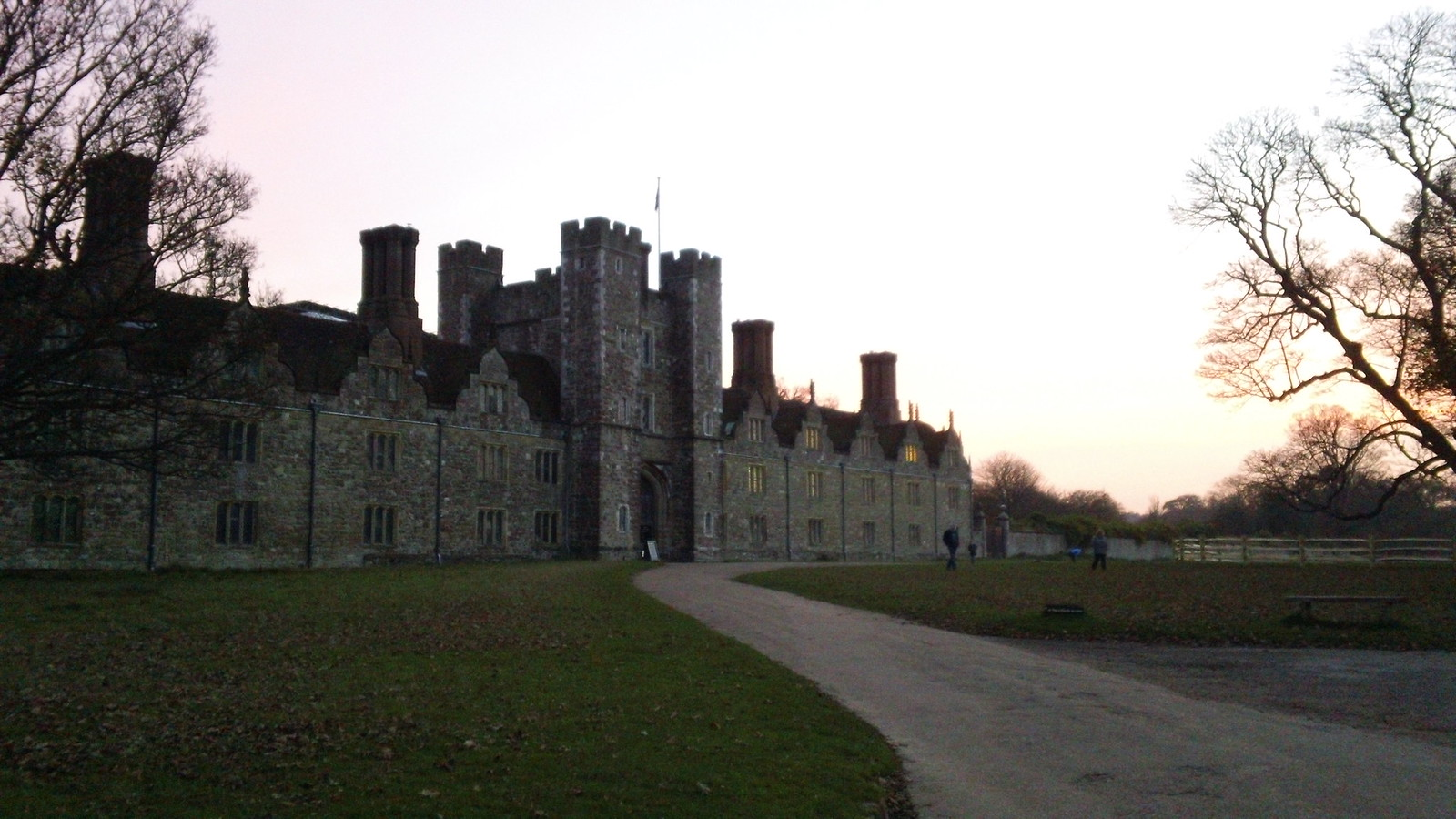 Knole House at sunset who said the sun never sets on the British Empire?