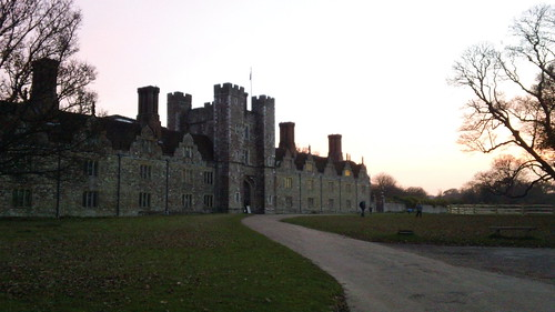 Knole House at sunset