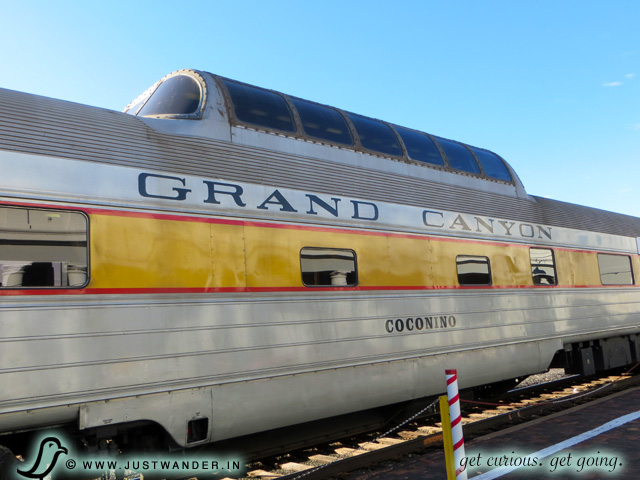 PIC: The Observation Dome at the Williams Train Station before we board the Grand Canyon Railway