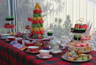 Yummy Christmas High Tea