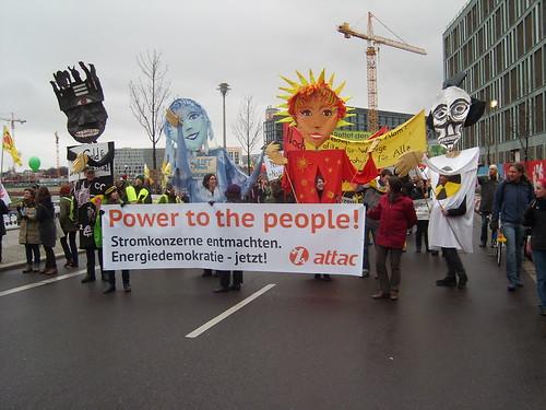 Energiewende Retten! Berlin 3.12.2013 Sonne+Wind statt Kohle+Atom