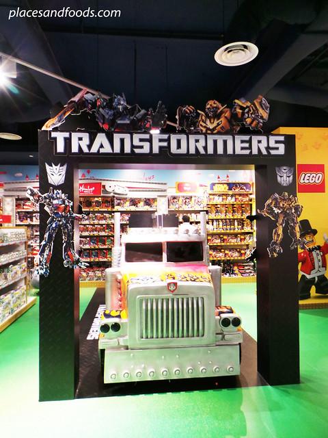 hamleys transformers