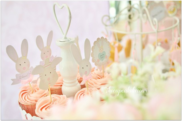 bunny themed dessert spread (6)