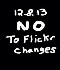 NO To Proposed Flickr Changes
