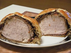 meat, food, dish, beef wellington, cuisine, roast beef, animal fat,