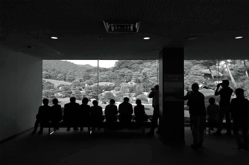 people|足立美術館