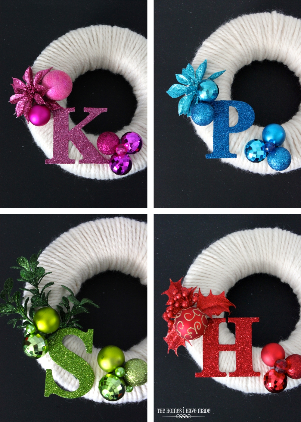 Mini Monogram Wreaths-008