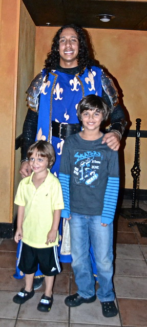 Medieval  Times Orlando Florida - Blue Knight winner