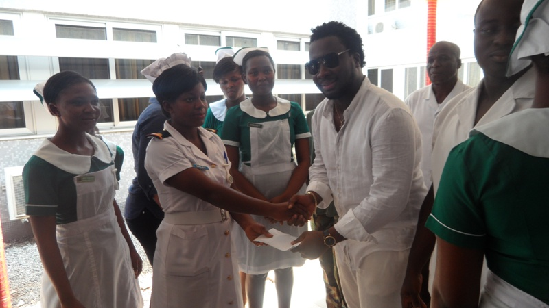 Sonnie Badu fetes three homes in Accra
