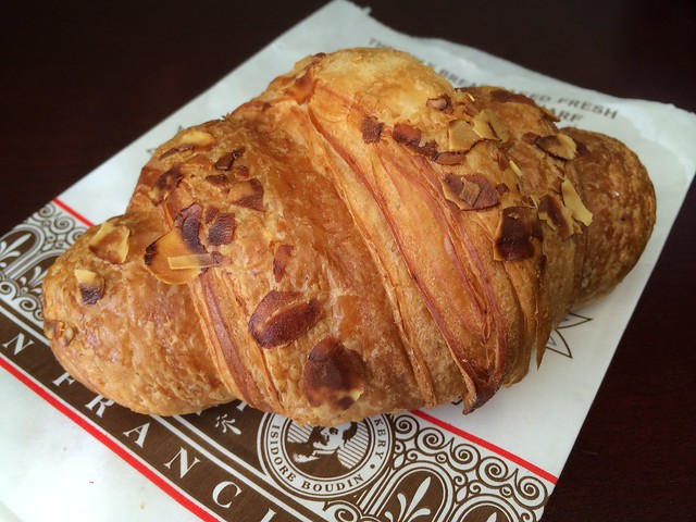 Almond croissant - Boudin Bakery and Cafe