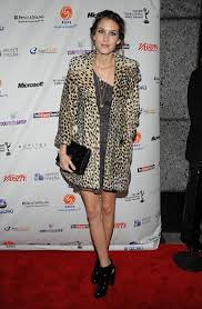 Alexa Chung Leopard Print Coat Celebrity Style Women's Fashion