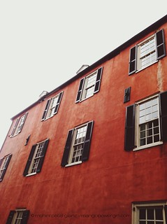 red facade charleston