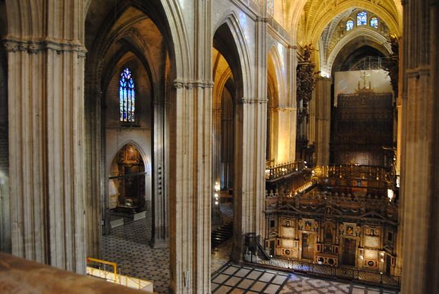 Interior cubiertas de la catedral de sevilla flickr - Catedral de sevilla interior ...