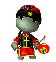 Chinese New Year Sackboy