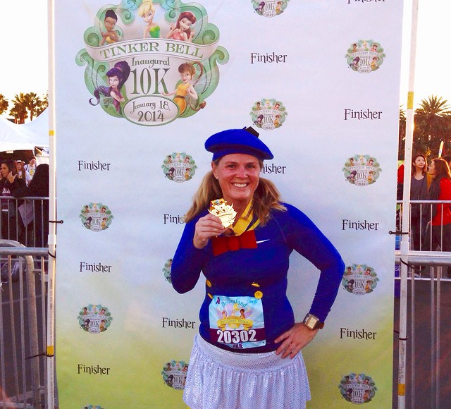 runDisney Tinker Bell 10K Finisher picture