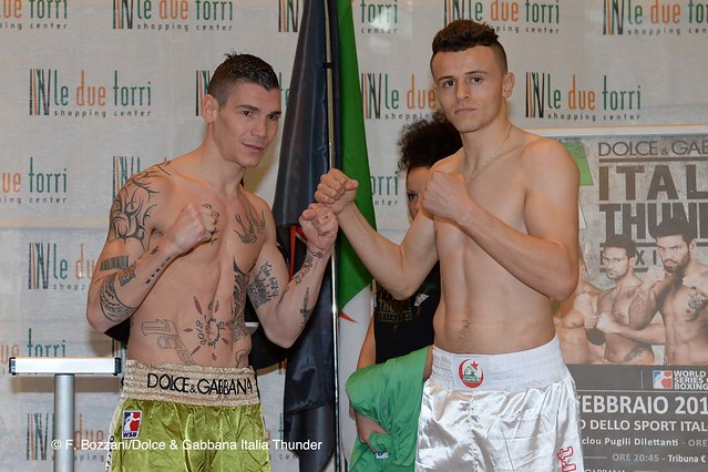 31/01/2014 Weigh In DOLCE & GABBANA ITALIA THUNDER vs ALGERIA DESERT HAWKS             31/01/2014 Weigh In DOLCE & GABBANA ITALIA THUNDER vs ALGERIA DESERT HAWKS
